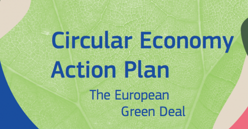 A screenshot from the EU's Circular Economy Action Plan document