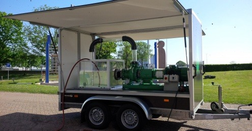 P&M Pumps invests in demonstration trailer for chopper pumps