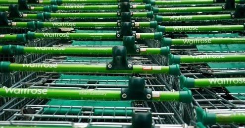 Waitrose trolleys