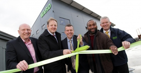 Ward unveils £1m Chesterfield recycling site upgrade