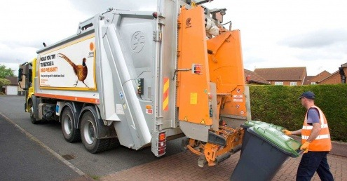 Stop reckless driving around bin lorries, says Kent campaign