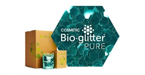 Ronald Britton and Futamura develop biodegradable glitter
