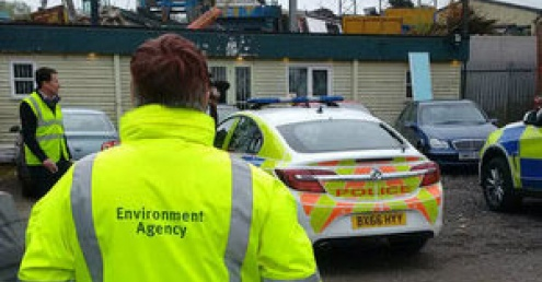 Nationwide dawn raids over illegal waste operation