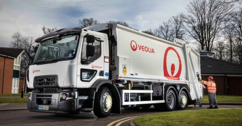 Veolia invests £5 million in vehicle road safety