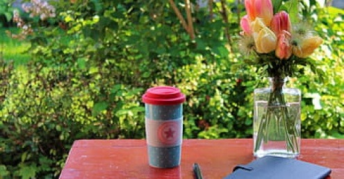 A reusable cup, which is safe to bring to cafes during the Covid-19 pandemic.