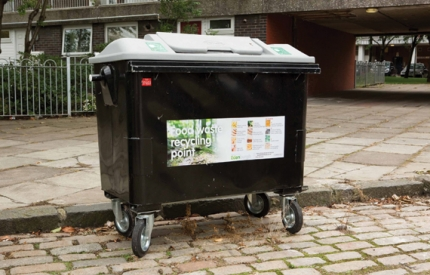 Edinburgh food waste bin