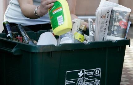 Recycling box.