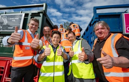 FCC Environment has won a new contract to run 11 of Suffolk's Recycling Centres.