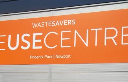 John Griffiths AM opens Wastesavers Reuse Centre