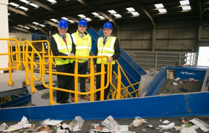 Vince Cable officially opens extension of Middlesbrough recycling facility