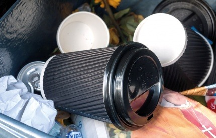 How to recycle biodegradable coffee cups