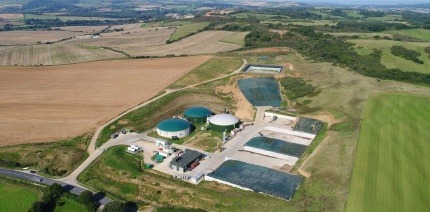 An anaerobic digestion (AD) plant