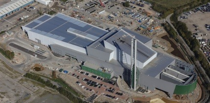Avonmouth Energy Recovery Facility aerial view