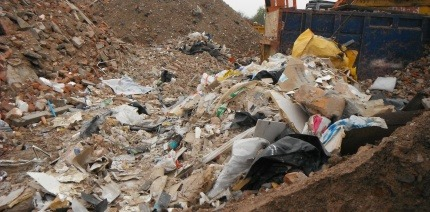 Waste was dumped illegally at the site in Haymills, Birmingham, despite repeat warnings.
