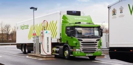 Waitrose to run HGV fleet on biomethane
