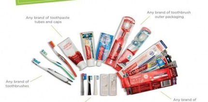 The range of products accepted by TerraCycle