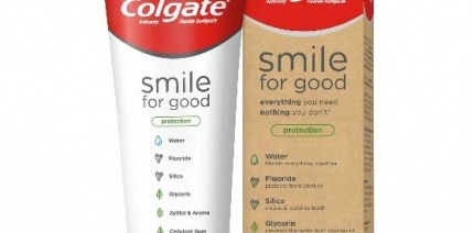 Colgate's new recyclable toothpaste tube