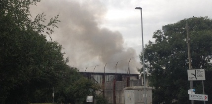 North Bristol covered in dark smoke following Viridor waste centre fire