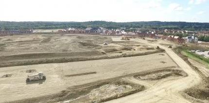 A landfill regeneration project.