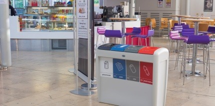 Glasdon release the Nexus Evolution recycling bin