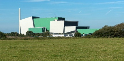 The Javelin Park EfW facility in Gloucestershire