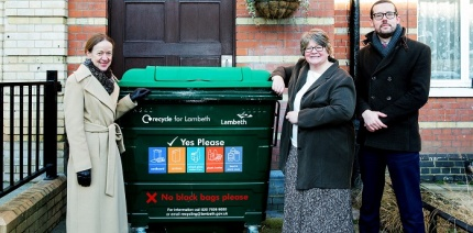 What's holding back recycling in London's flats?