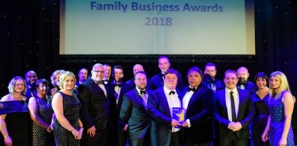 Ward takes home two wins at family business awards