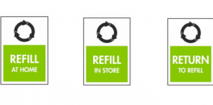Refill labels