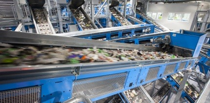 Viridor's Polymers Recycling Facility in Kent.