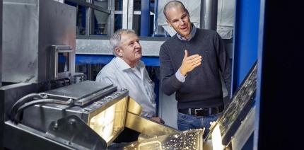 Bühler UK wins Queen's Award for camera sorting technology