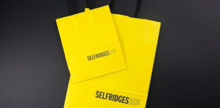 Selfridges to upcycle in-store coffee cups into shopping bags