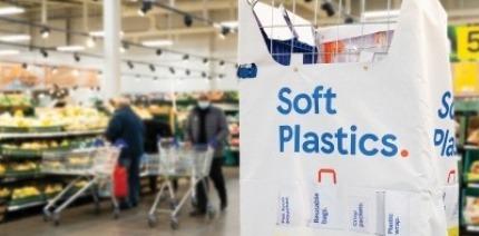 Tesco soft plastics collection point