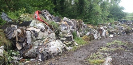 Vale of Glamorgan site cleared of 336 tonnes of dumped mattresses