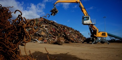 An image of a waste metals site
