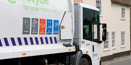 Bath and North East Somerset recycling vehicles overheating