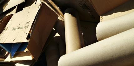 Cardboard packaging.