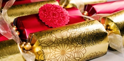 A set of Christmas crackers