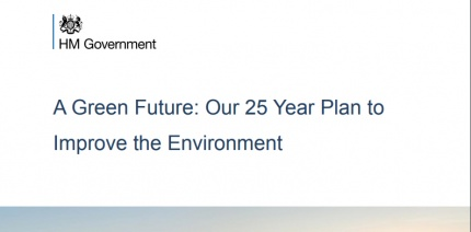 Industry welcomes 25 Year Environment Plan but calls for detail remain