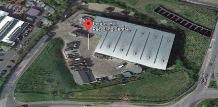 Blaze breaks out at Kent recycling centre