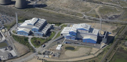 A Suez EfW site at Haverton Hill, Stockton-on-Tees