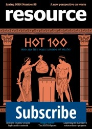 Resource Magazine Issue 95 cover